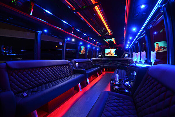 Large Party Bus Rental Orlando