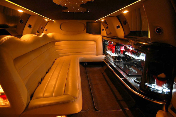 Lincoln Limo Interior Orlando