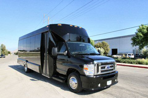 Medium Black Party Bus Orlando